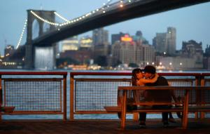 Art Installation Of Waterfalls Takes Over East River Views