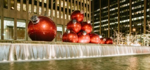 Christmas balls New York