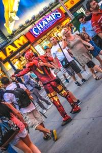 Iron Man Times Square